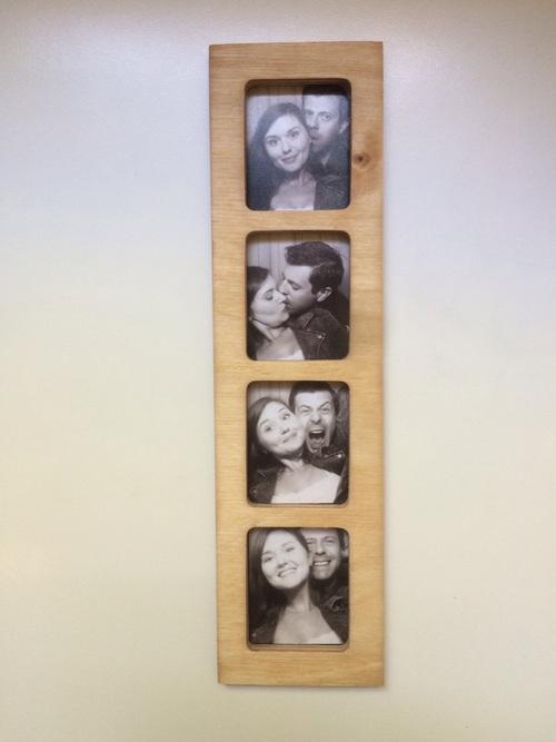 magnetic photobooth frame