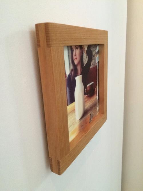 square 5x5 alder frame