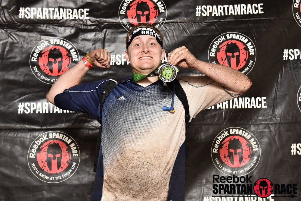 At the end of the Breckenridge, CO Spartan beast race.