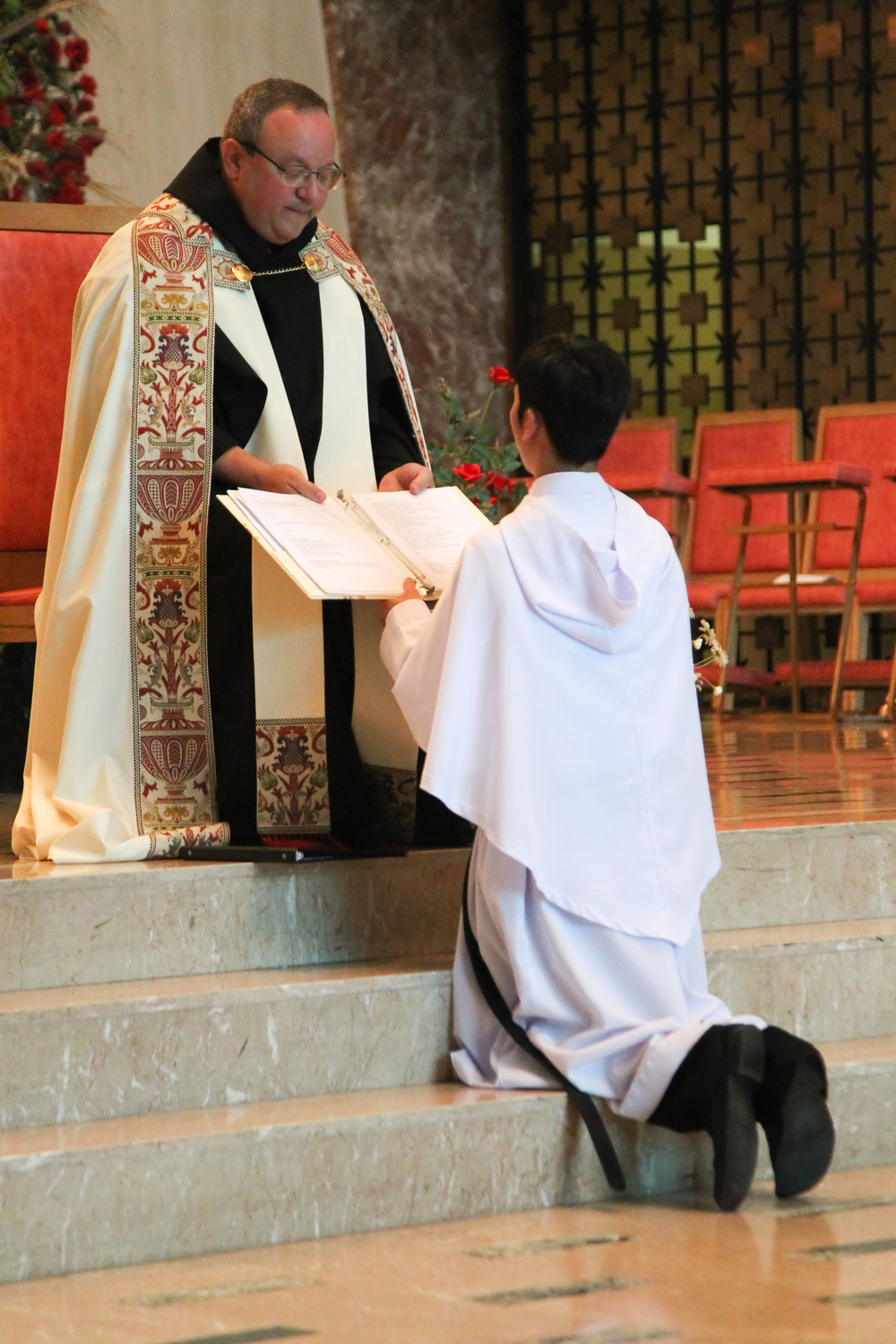 Br. Richie professed Simple Vows in August 2012