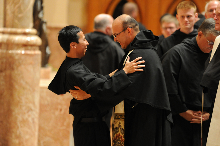 Now that Brother Richie has professed his solemn vows, he anticipates his ordination as a transitional deacon.  Serving as a deacon is the last step before he can be ordained an Augustinian priest.