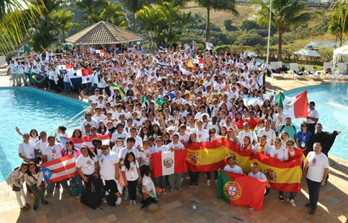 The eleventh Augustinian International Youth Encounter at San Paolo, Brazil in July 2013