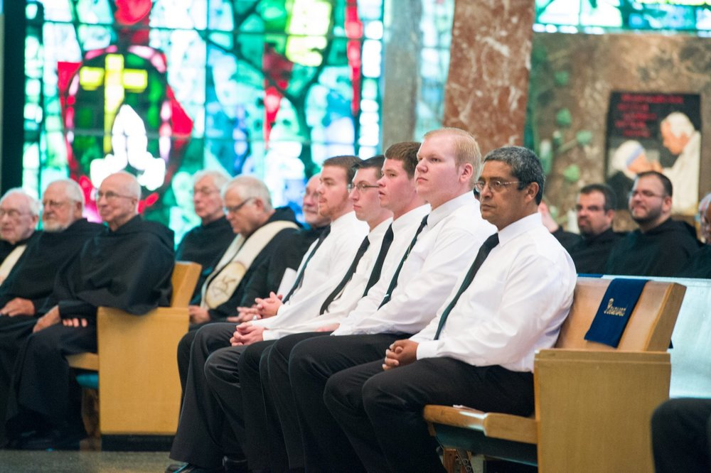 Novices from the Midwest Province