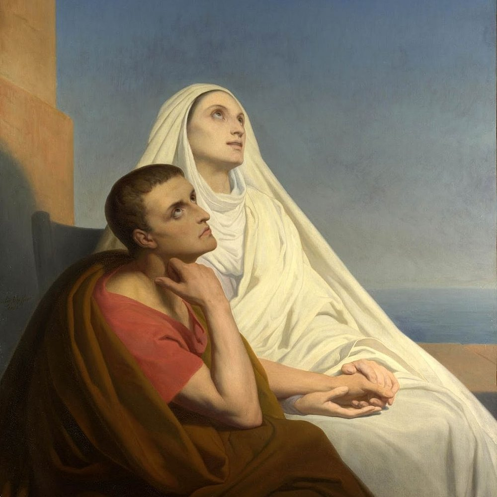 who was saint augustine s mother augustinian vocations