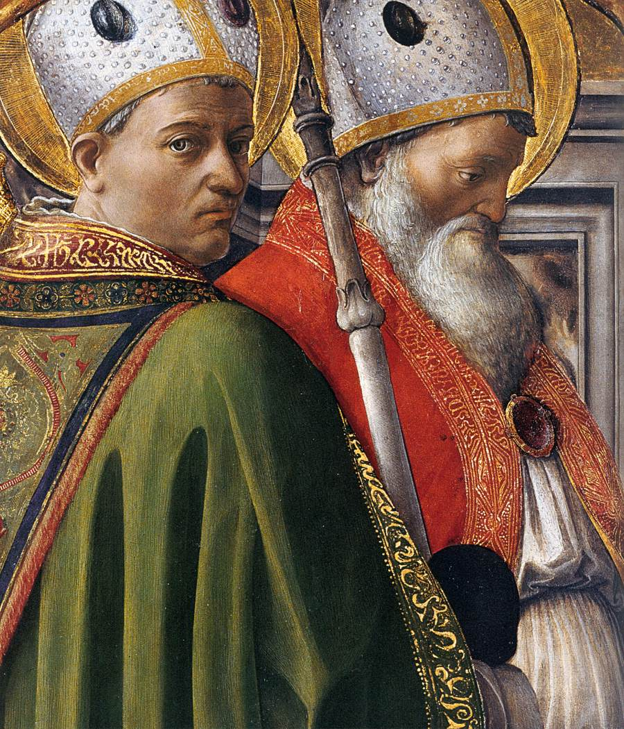Saints Augustine and Ambrose