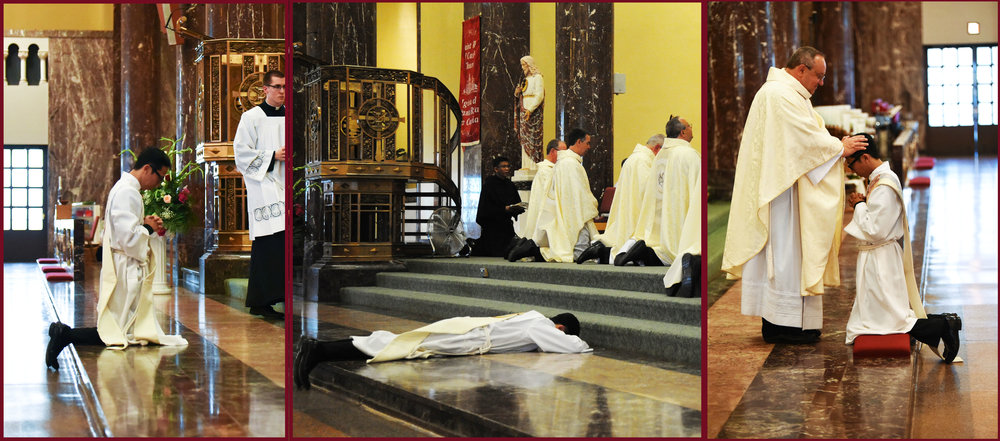The Postures And Gestures Of Ordination Augustinian Vocations
