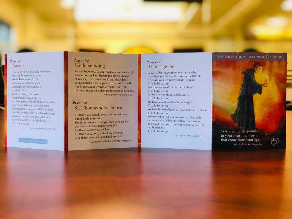Flip Through Our Pocket Prayer Fold