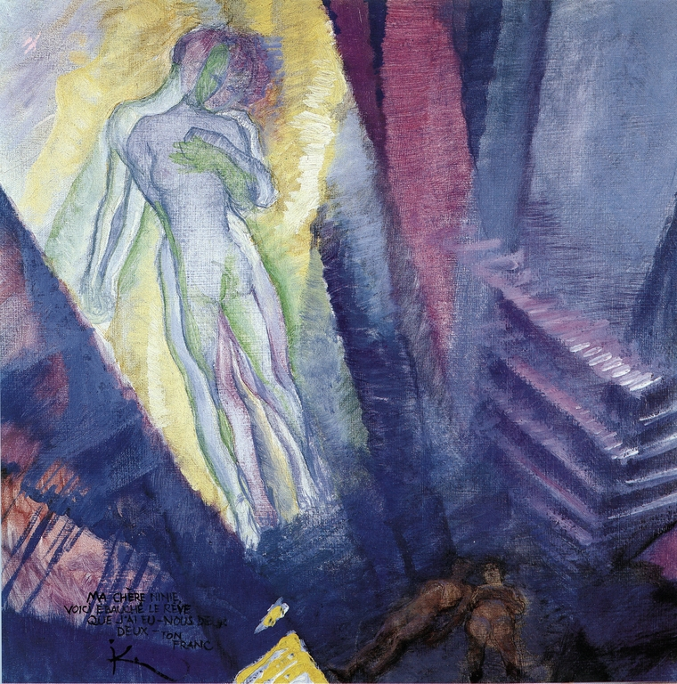 The Dream by Frantisek Kupka 1909