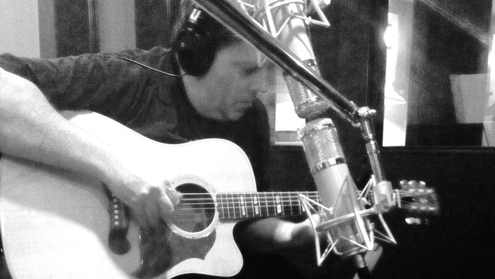 Jon Dee shredding it in the studio.