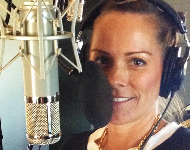 KC in the studio