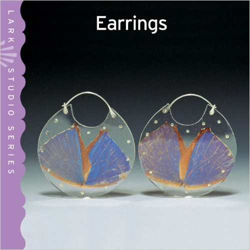 "Book Cover, ""Morpho Encasements"" chosen as cover of   Lark Studio Series: Earrings"