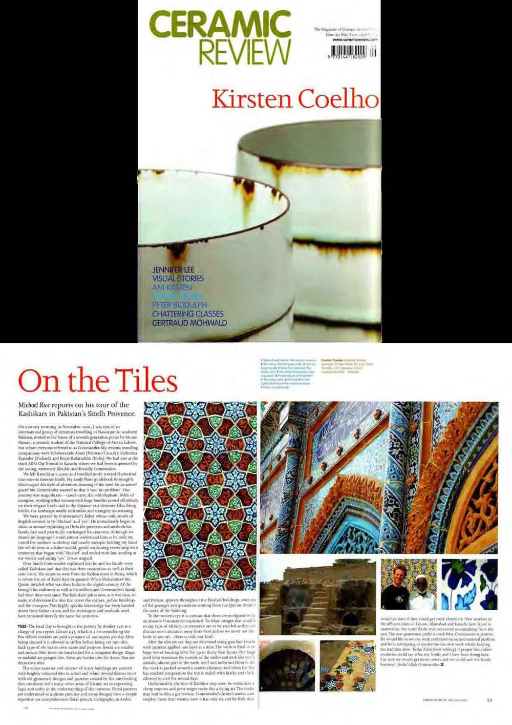 Ceramic Review article 2008