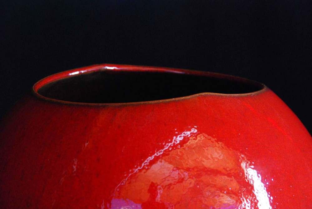 Detail Red Glazed Binary 2009
