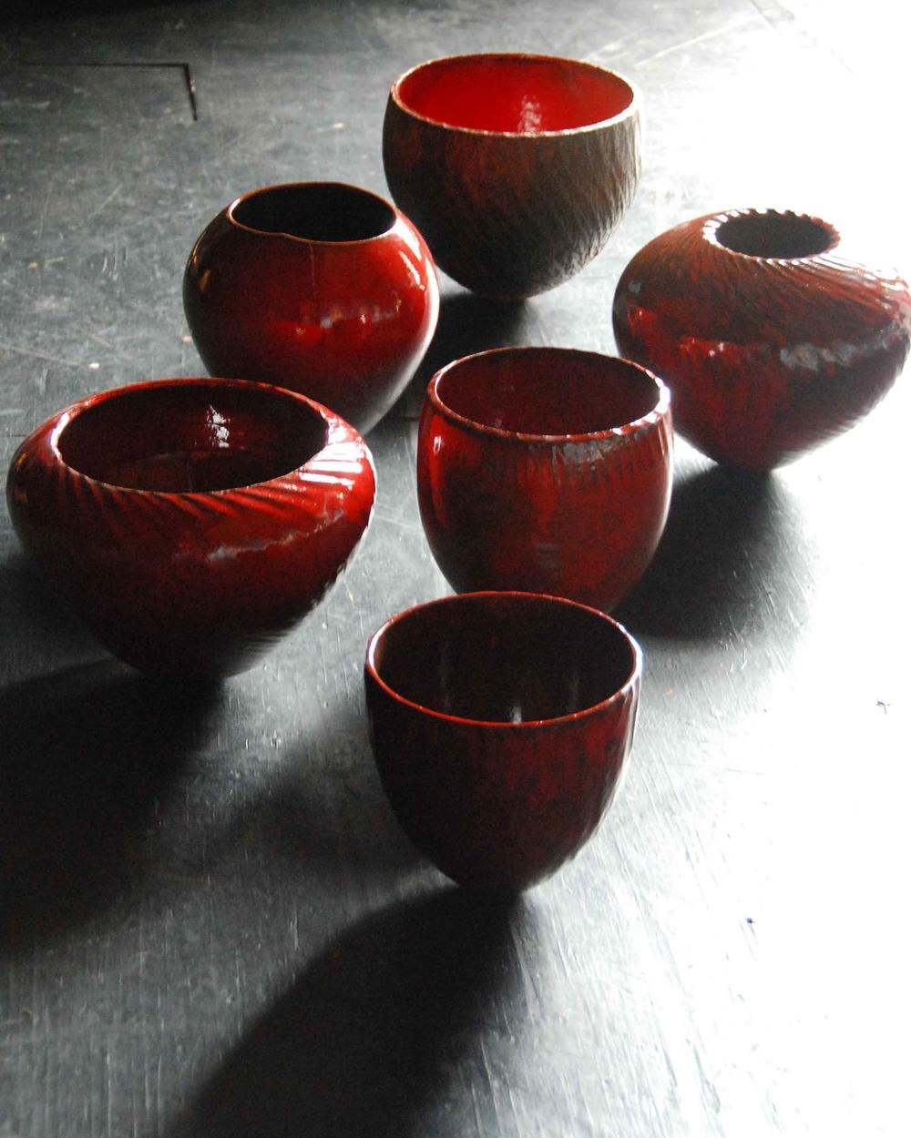 Red Glazed Work 2009
