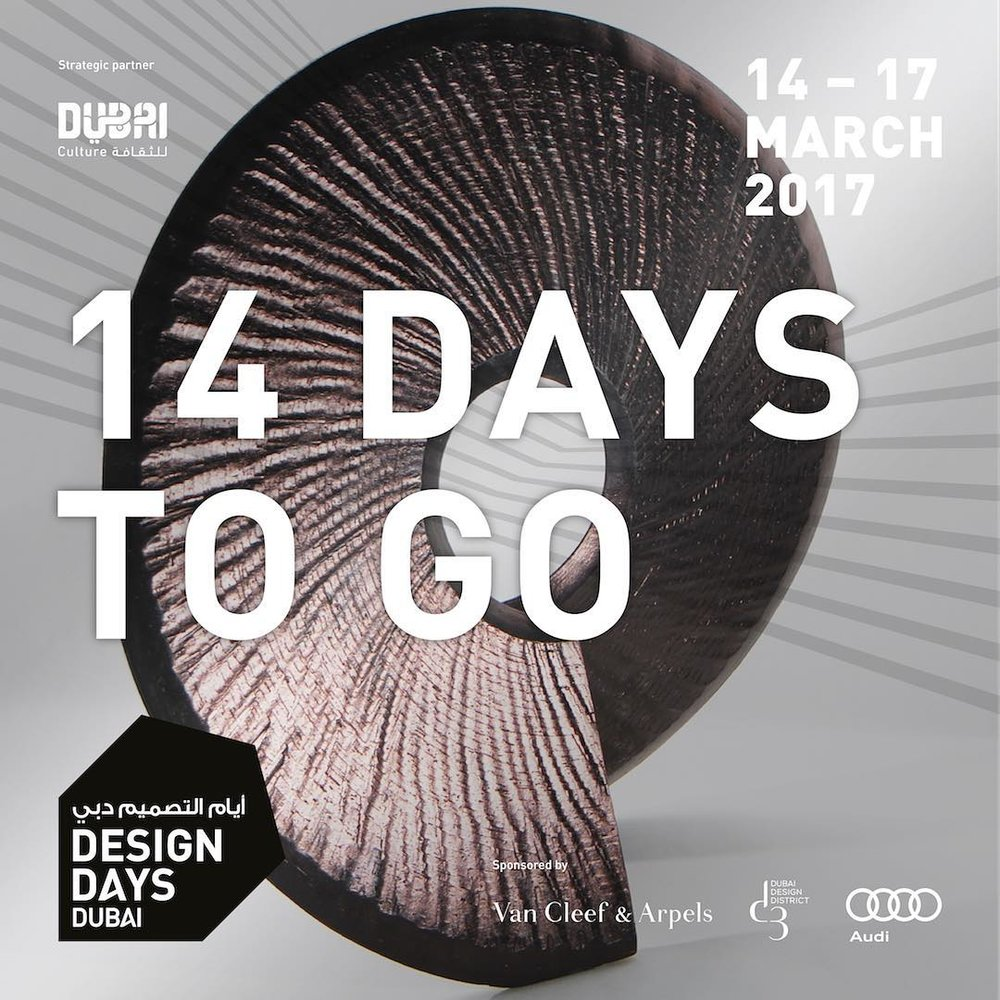 Exhibiting at Design Days Dubai 2017