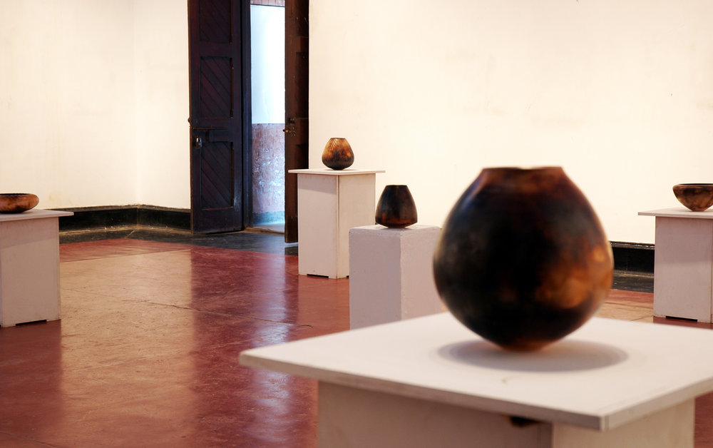 Exhibition in the National College of Arts, Lahore