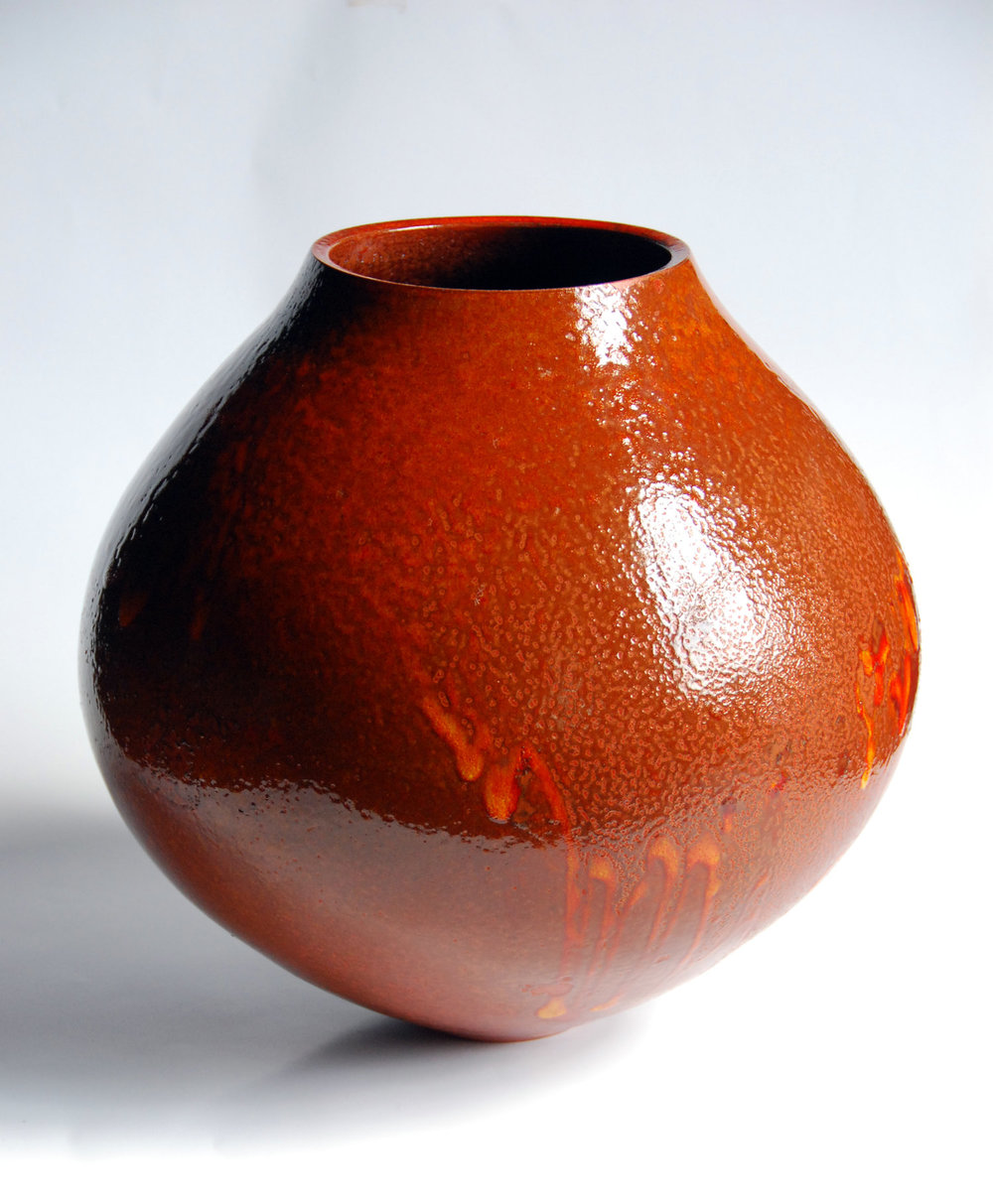 Terra Sig Red Glazed Form 2009
