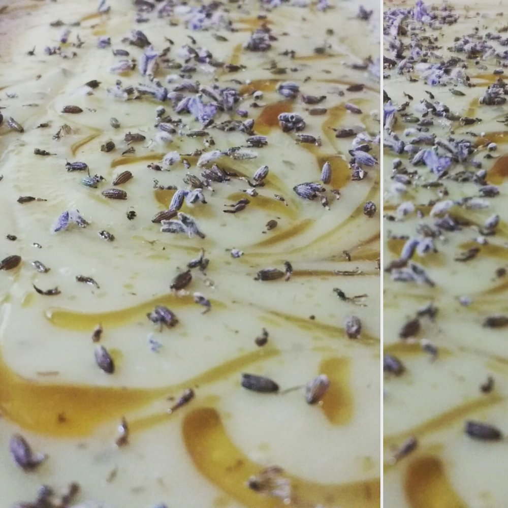 Raw Local Honey & Lavender Soap