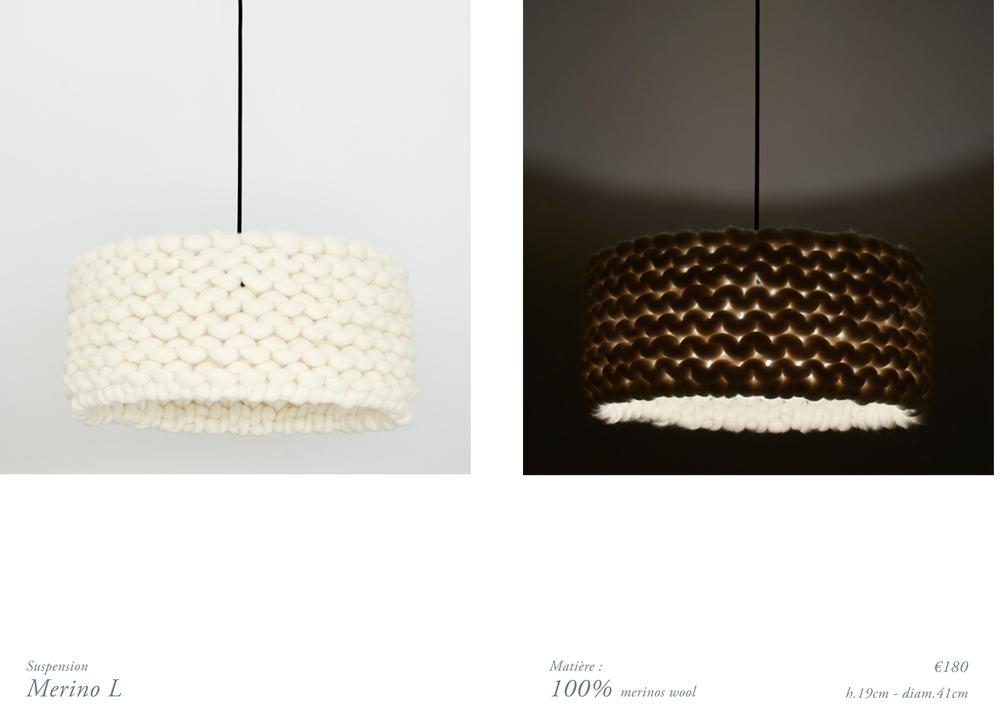 chunky merinos wool handmade lamp L.jpg