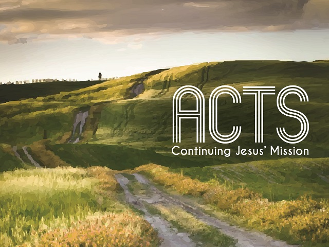 "Some have suggested the book of The Acts of the Apostles should really be called ""The Acts of the Holy Spirit"" for it is all about the church being founded, being led and directed by the Holy Spirit. This series will explore how the Spirit continues Jesus' mission through empowering, sending and using his church to establish his Kingdom throughout the world, starting in Jerusalem."