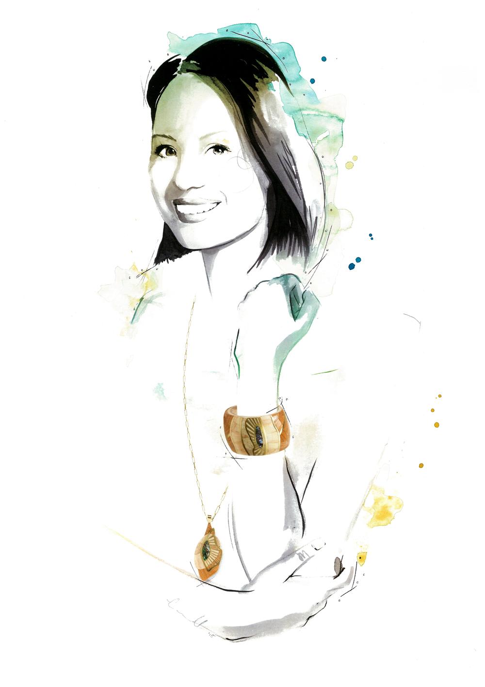 Claire Hsu portrait