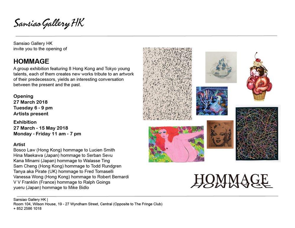 Hommage Show Art Basel Hong Kong
