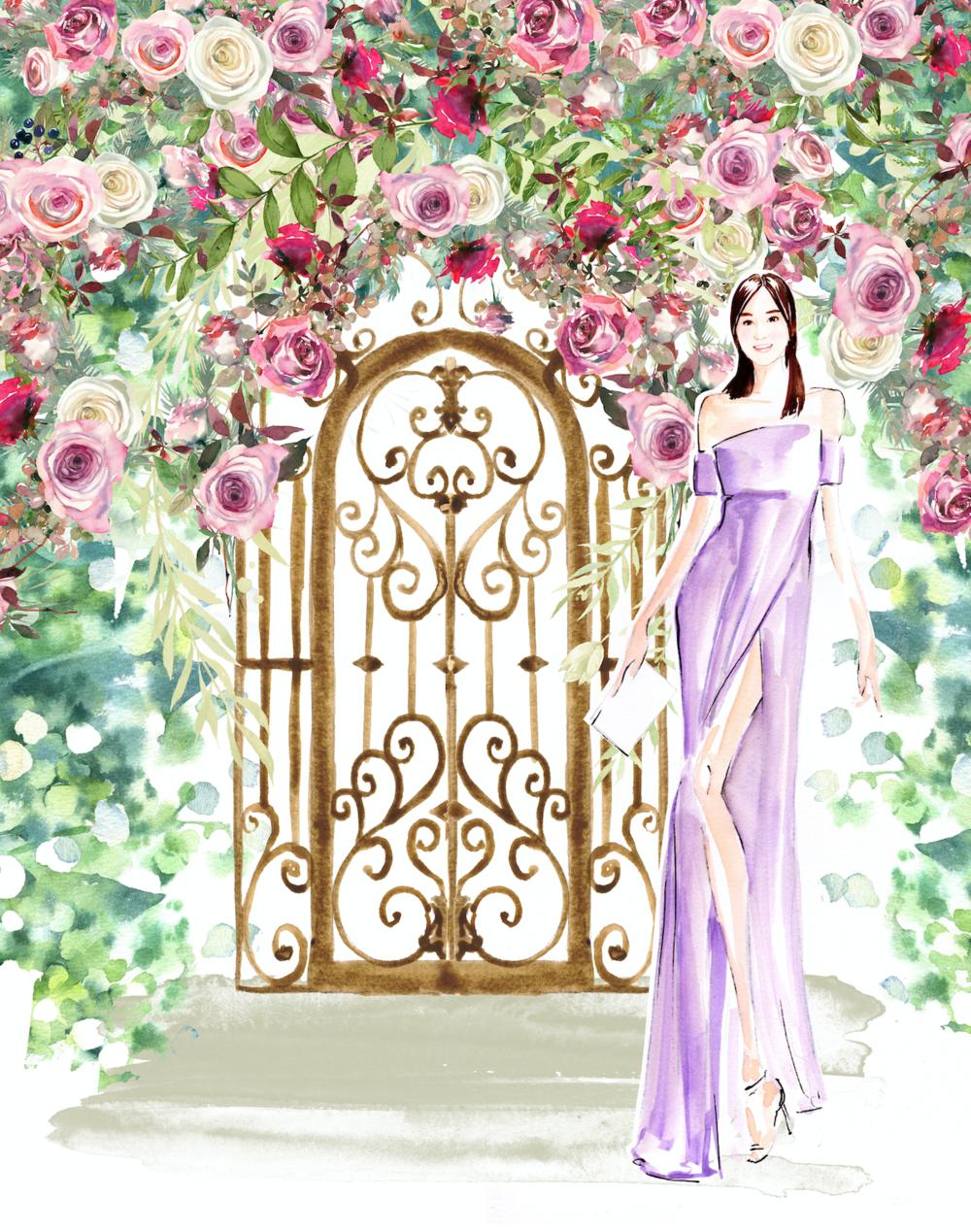 fashion illustration portrait hong kong