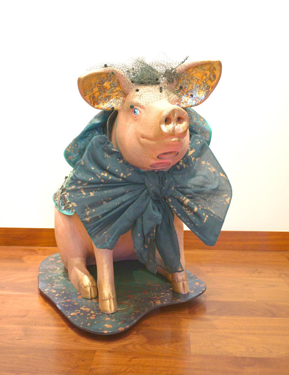 Art Central Pig for Sovereign Art Foundation