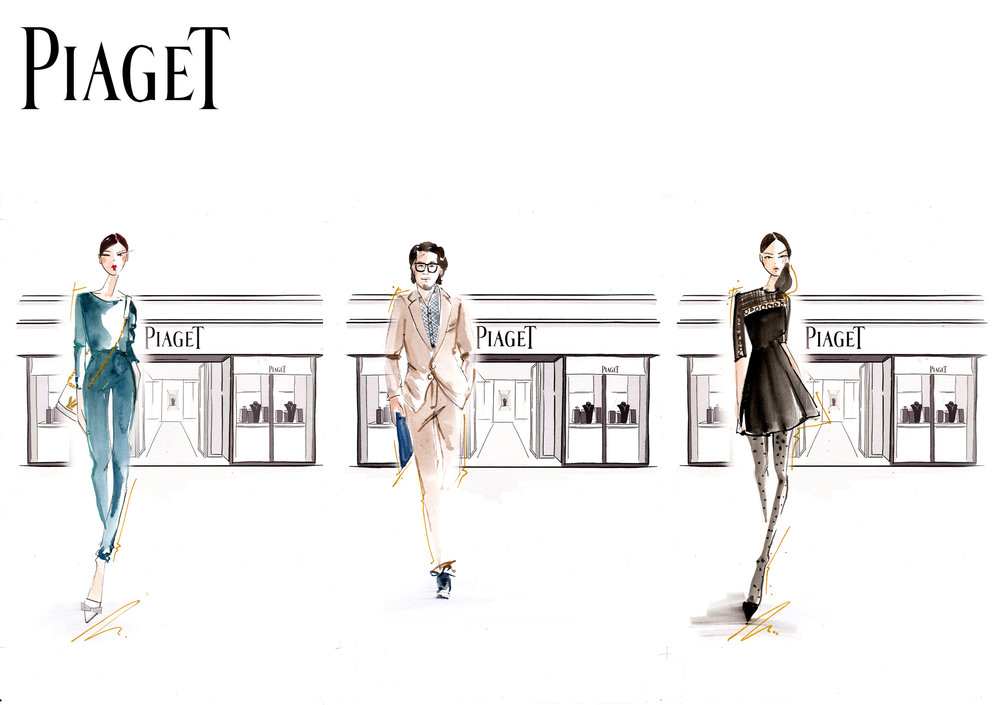 Piaget boutique mandarin oriental