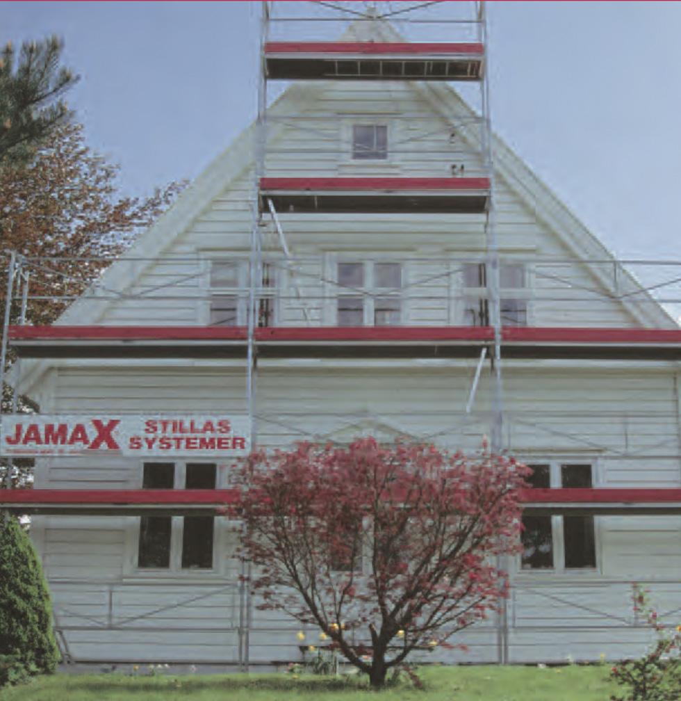 Jamax stillassystem