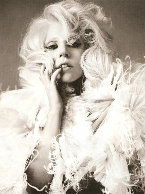 Lady Gaga Ruffles