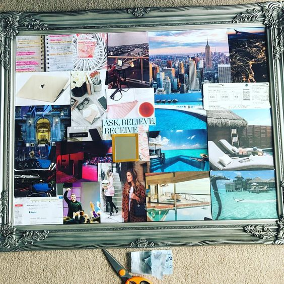 MY VISION BOARD - MADE JULY 2017