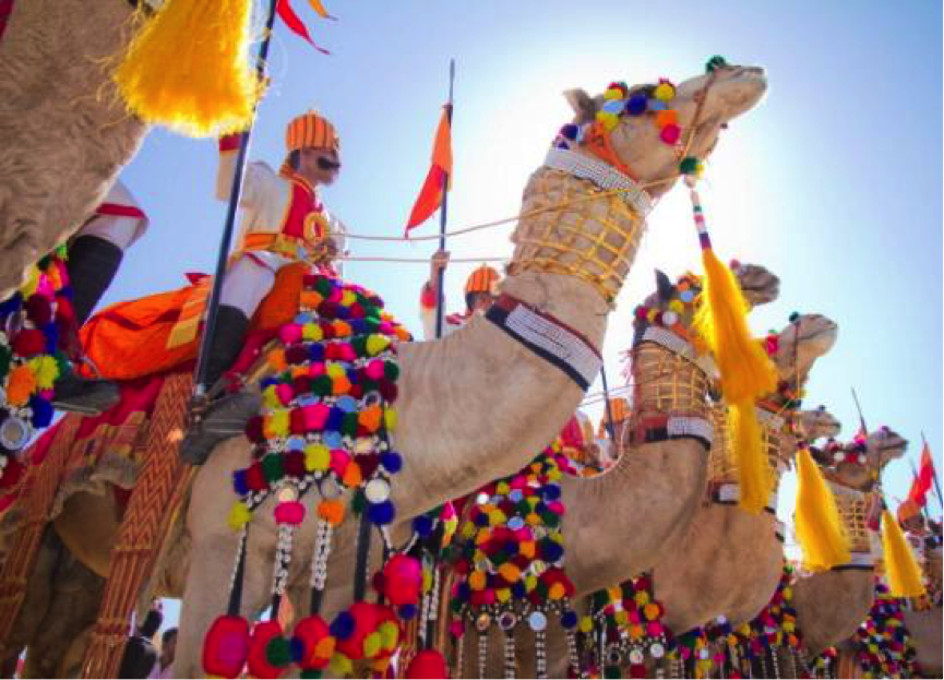 Desert Festival Jaisalmer Rajasthan India