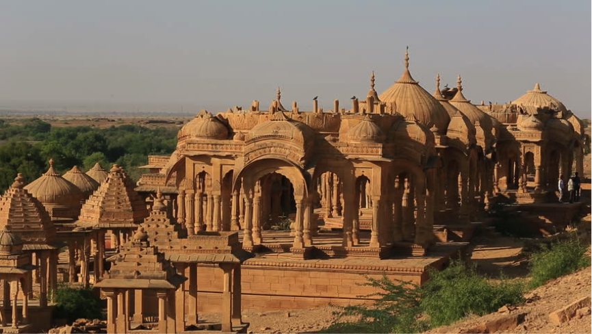 Memorial to Sage Vyasa in Jaisalmer Rajasthan