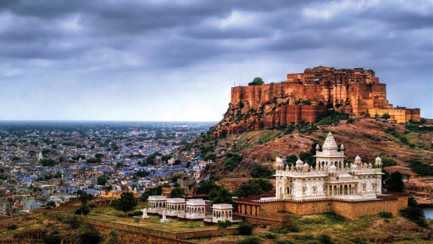 Mehrangarh Fort in Jodhpur Rajasthan India
