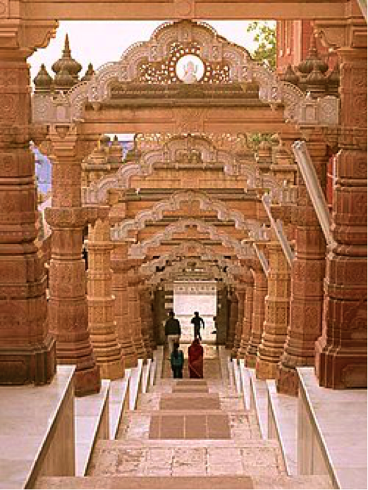 Orisan Jain Temple, on the way to Jaisalmer Rajasthan India