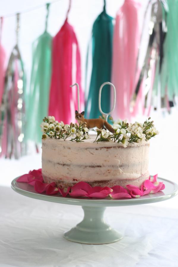 Lily birthday cake