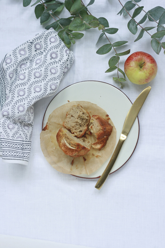 Apple, Almond & Buckwheat Muffins