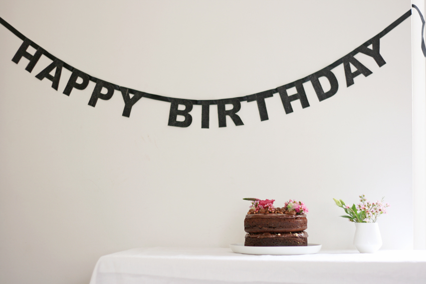 'Happy Birthday' banner by My Little Day.