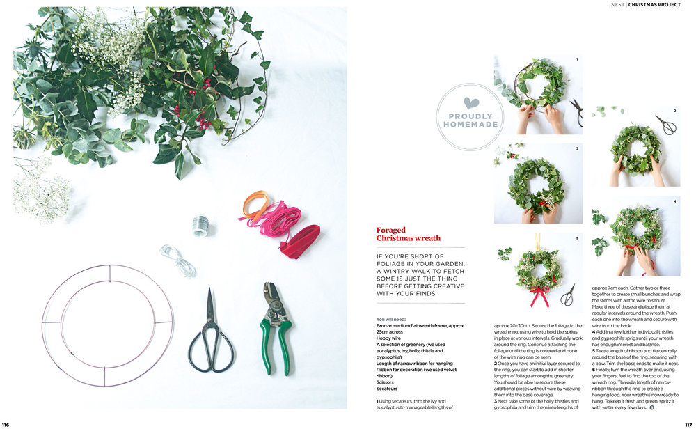 THE SIMPLE THINGS // Christmas project  Project, styling and photography: Louise Gorrod