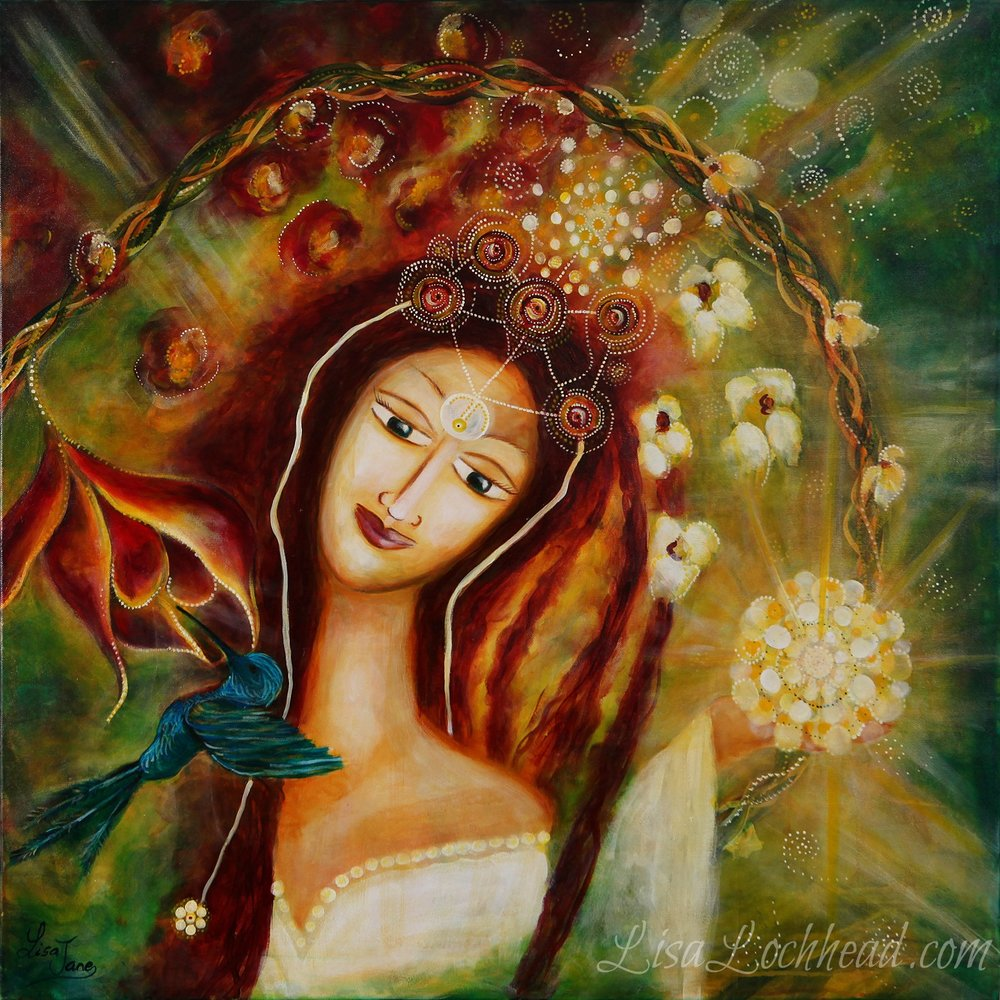 <p><strong>She Who Manifests HerSelf</strong>SOLD<a href=/she-who-manifests-herself>More →</a></p>