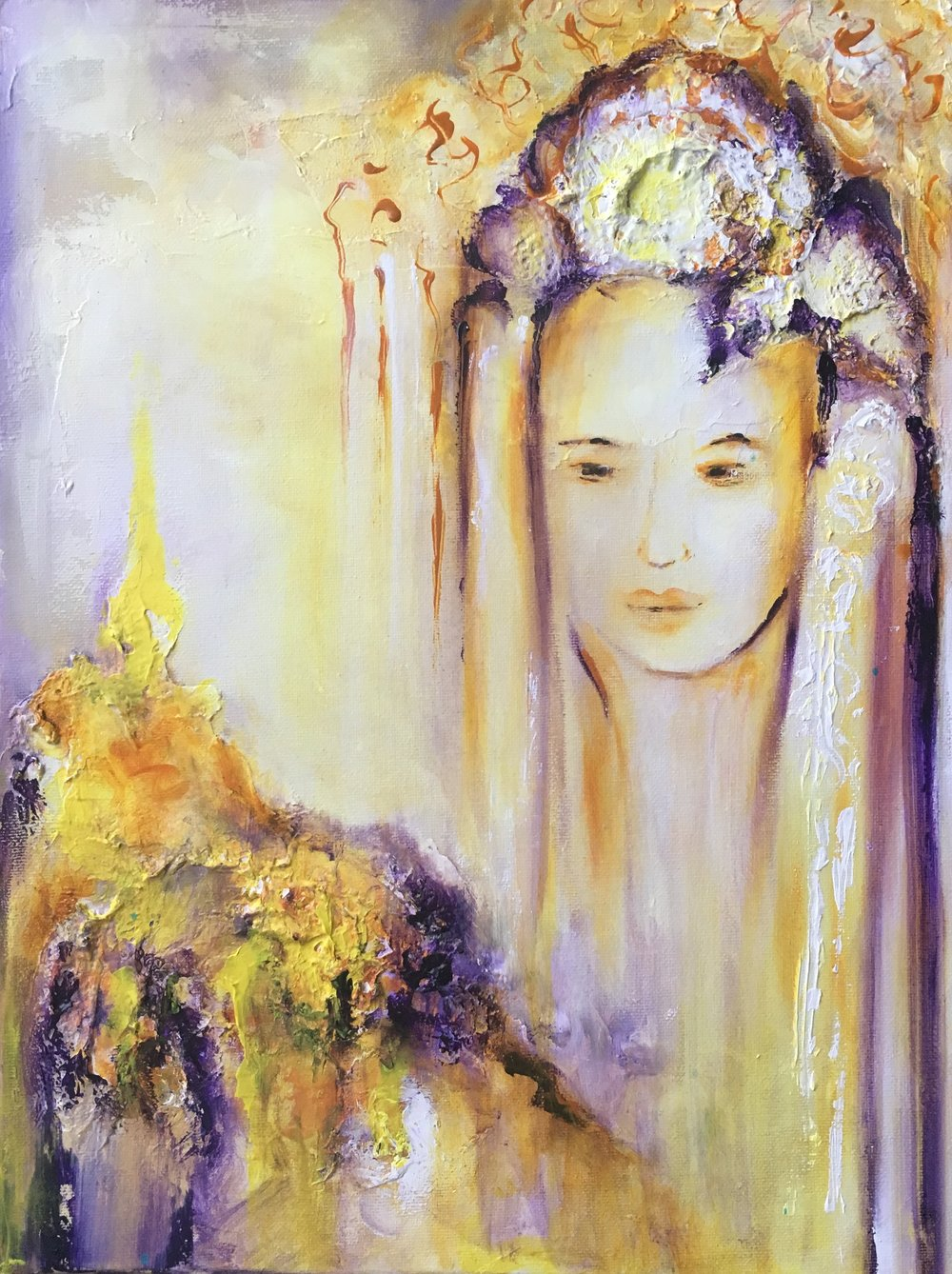 Sky Goddess - Sold, Private Collection
