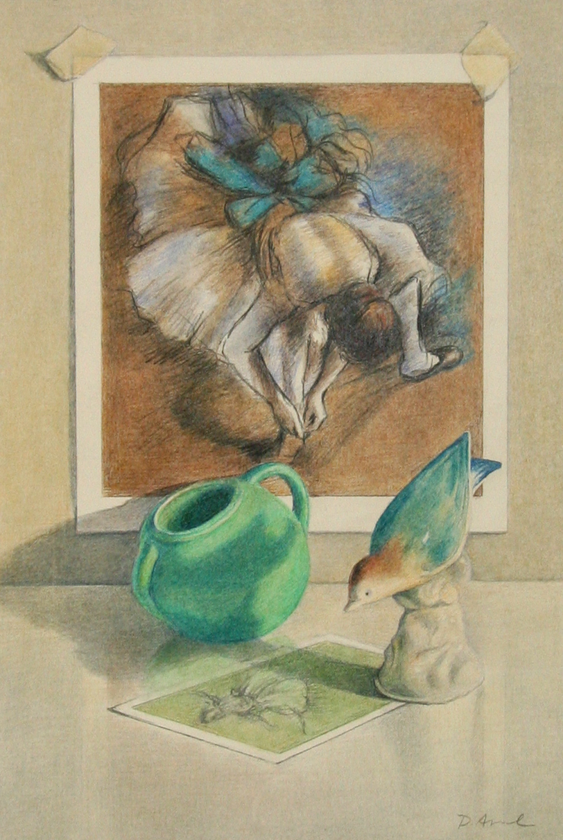 Degas with Bird