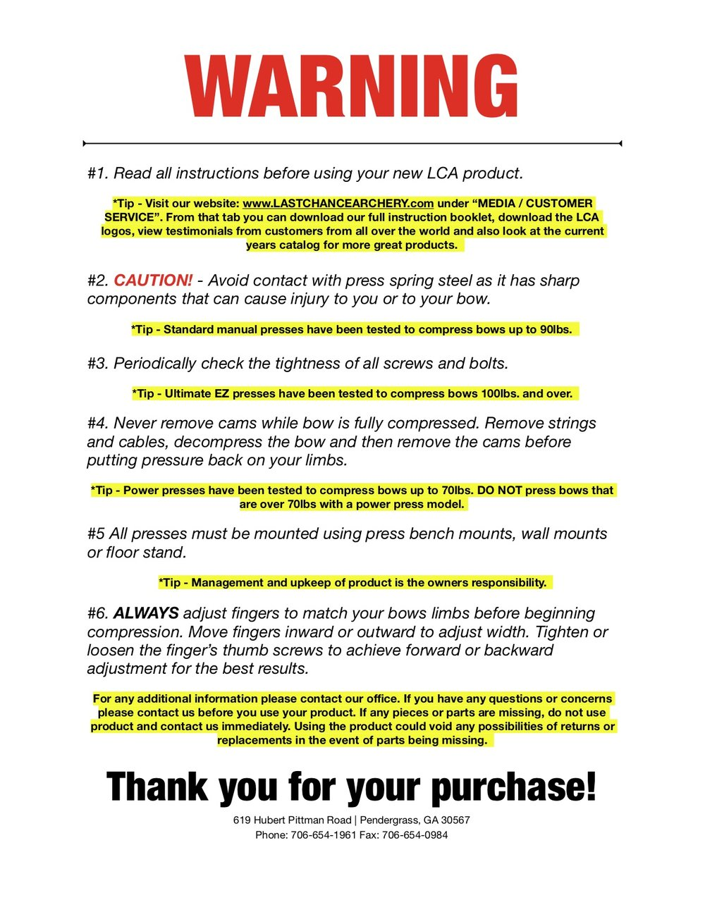 LCA Product Warning Sheet .jpg