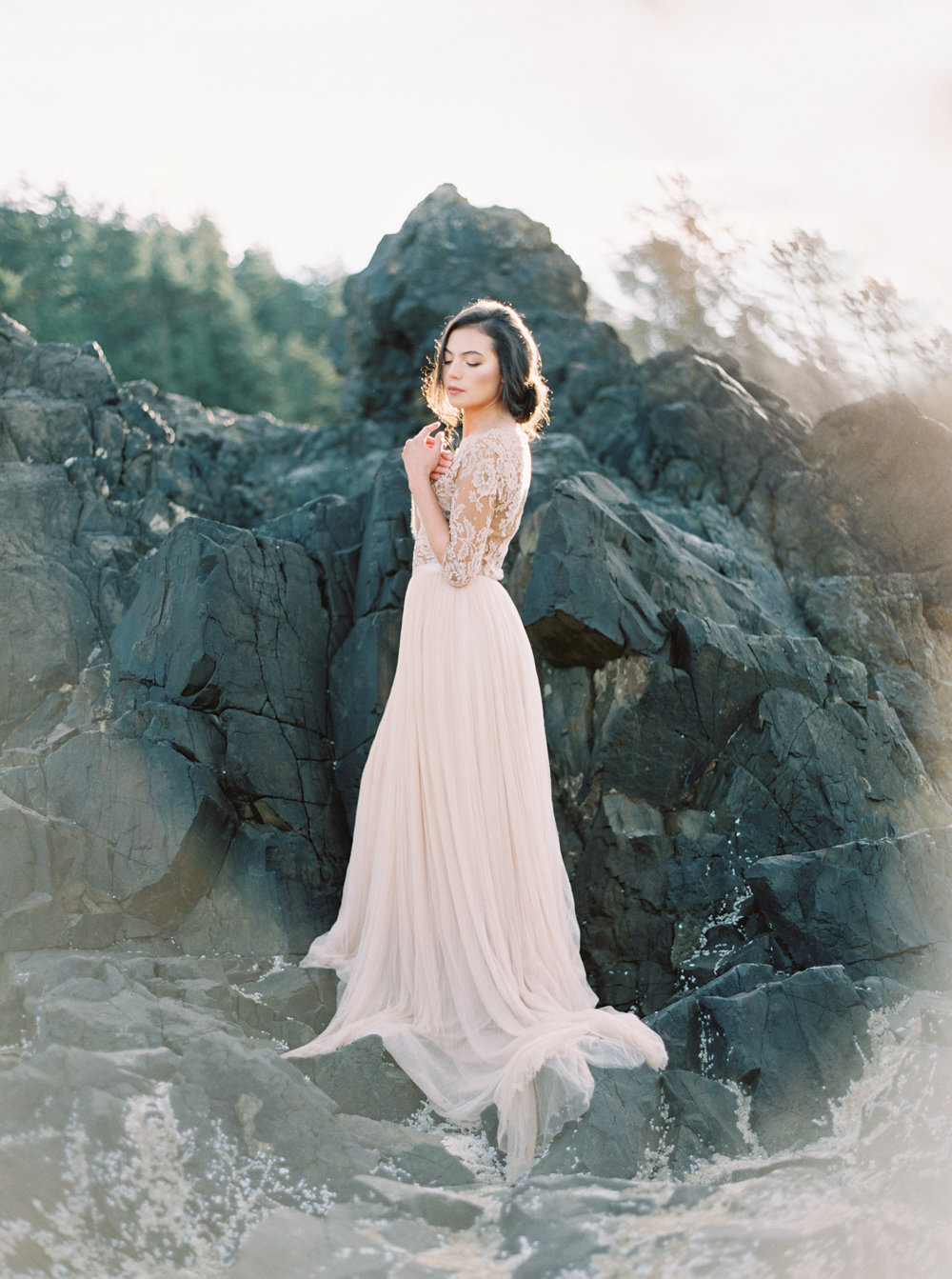 Oregon Coast Fine Art Bridal | Niagara Wedding Photographer