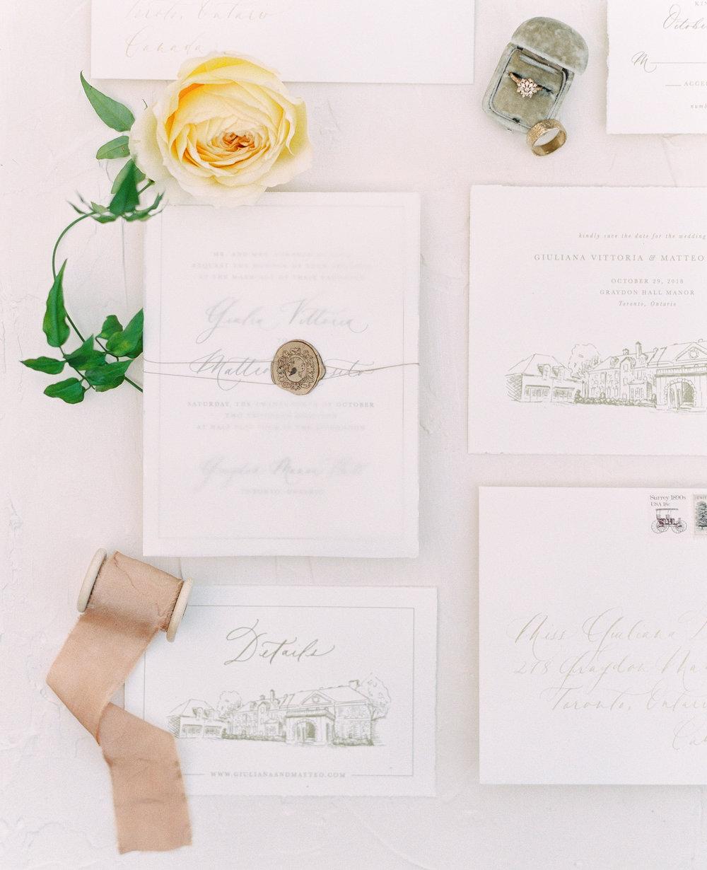 Graydon Hall Manor Fine Art Wedding