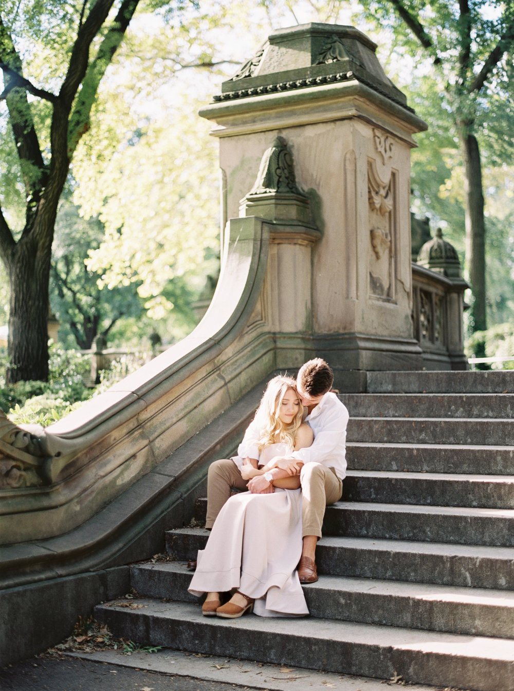 Central Park Fine Art Engagement