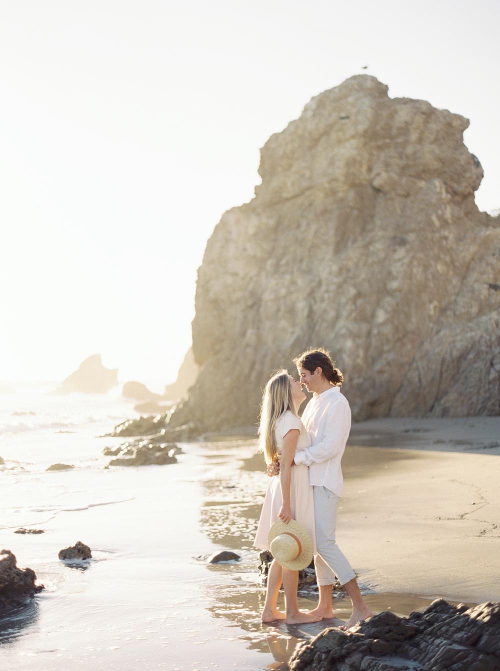 El Matador Beach Wedding Photographer