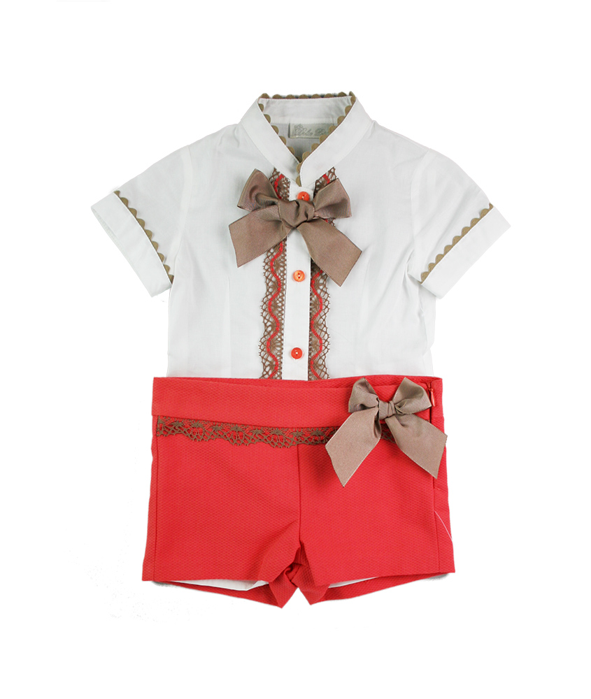 Dolce Petit shorts set available at Ninos Y Ninas UK. Delivers to U.S.