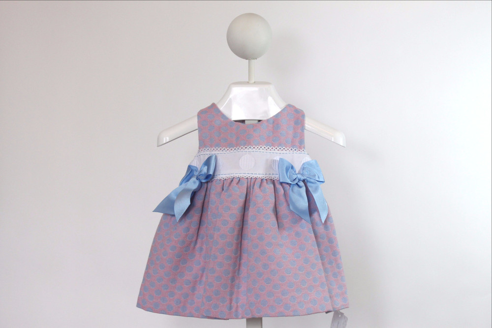 Celeste y Rosa Dress by Rochy available at Baby Spain